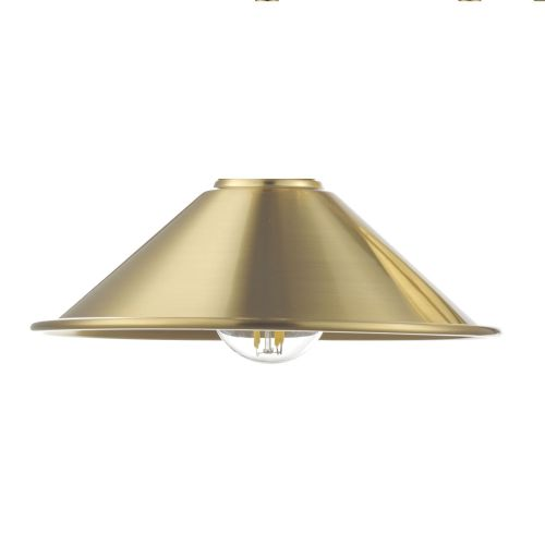 Accessory Metal Aged Brass Shade Only, ACC861